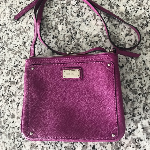 Nine West Handbags - Nine West Purple Crossbody